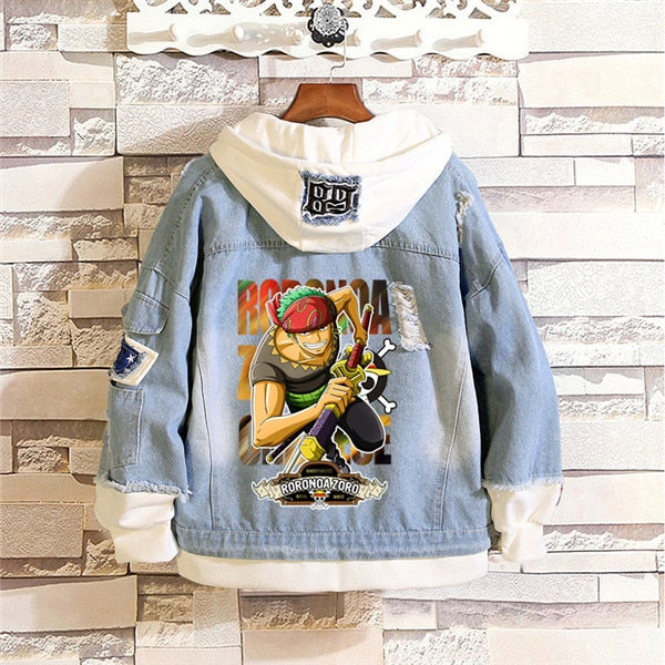 One Piece Denim Jackets