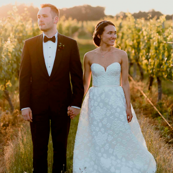 A NORTH FORK VINEYARD WEDDING