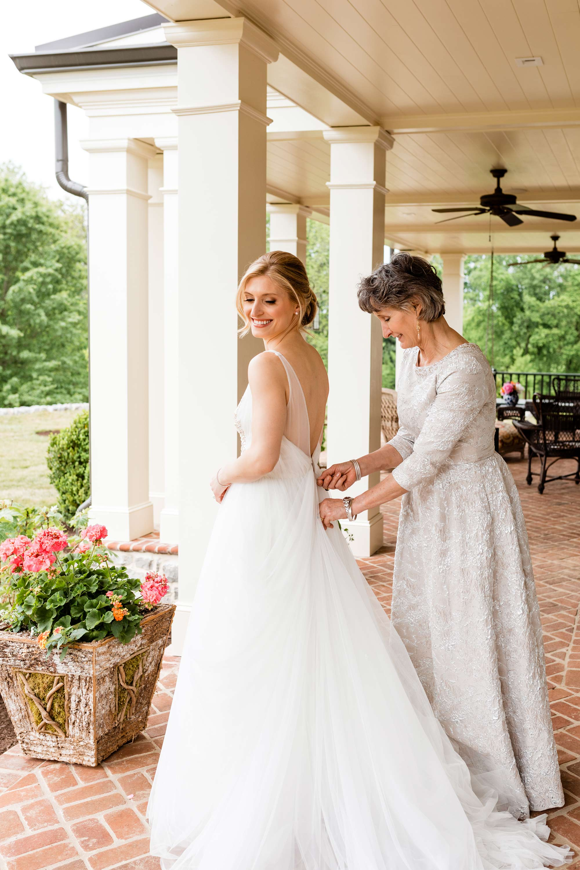 "Amsale ""Terri"" Tulle Ballgown Lexington, Kentucky Wedding"