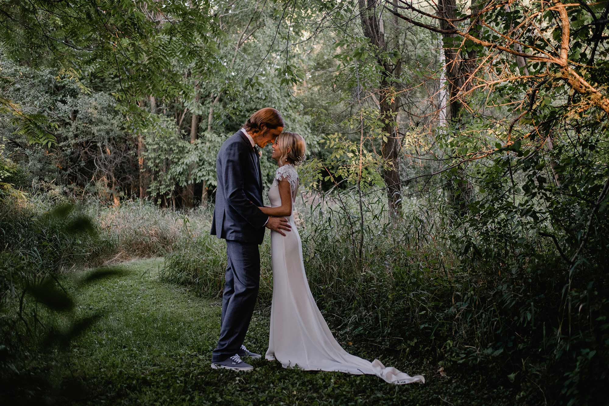 "Nouvelle Amsale ""Amanda"" Cedarburg, Wisconsin Wedding"