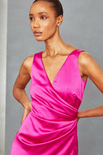 Load image into Gallery viewer, P360S - Drape Wrap Gown