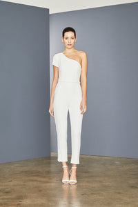 LW157 - Crepe Tailored Jumpsuit