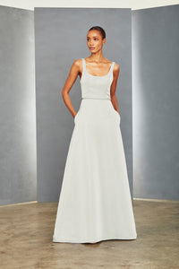 P350A - Scoop Neck Gown