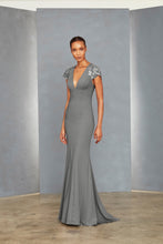 Load image into Gallery viewer, P365 - Sequin Lace Sleeve Gown