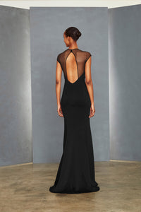 P356P - Open Back Gown