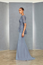 Load image into Gallery viewer, P364 - Lace Peplum Gown