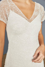 Load image into Gallery viewer, LW160 - Beaded Lace Midi Dress