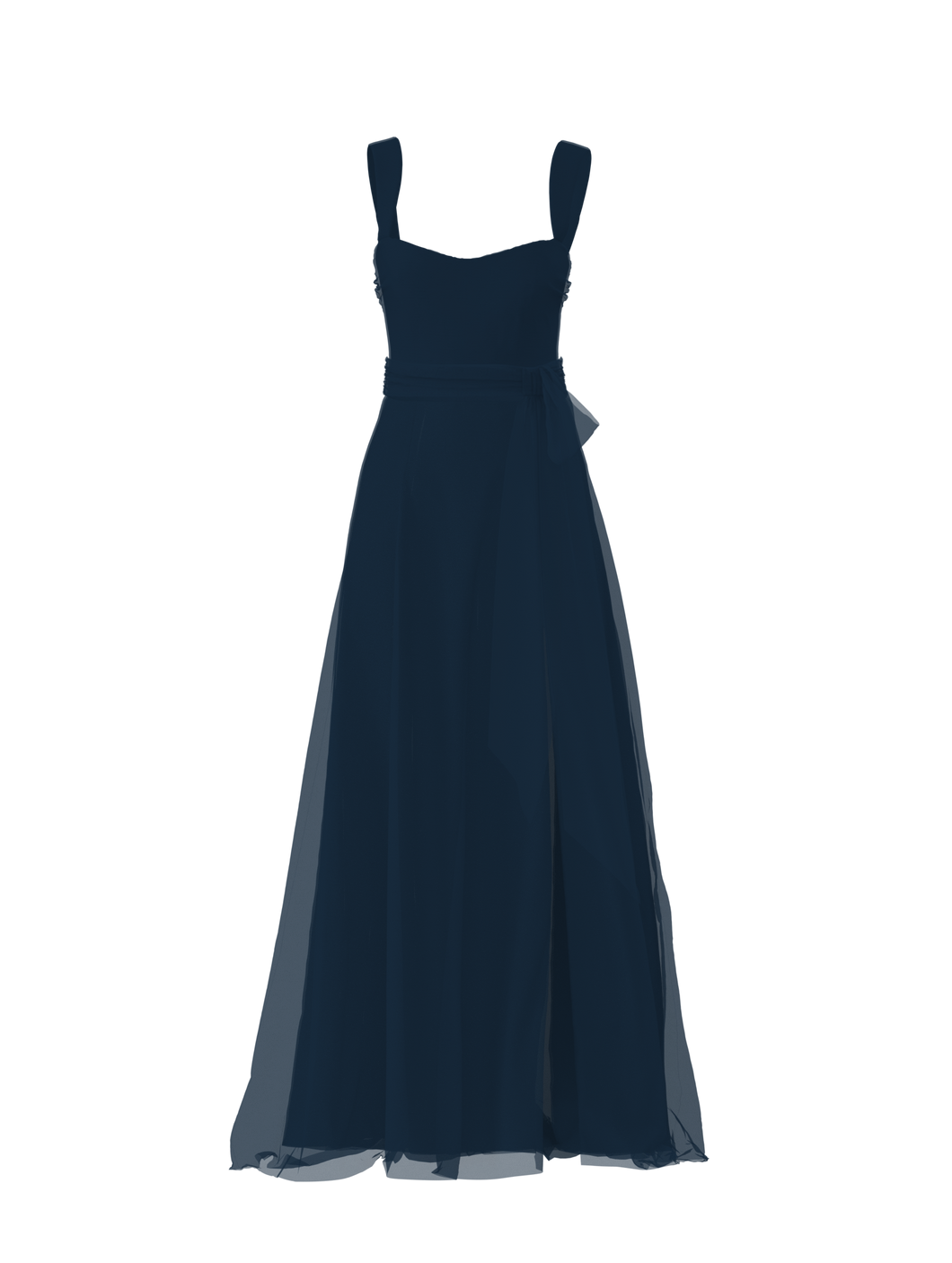 Bodice(Alexis), Skirt(Arabella),Belt(Sash), navy