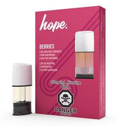 STLTH Pods, Hope - Berries - Nicotine Salt (3/pack)