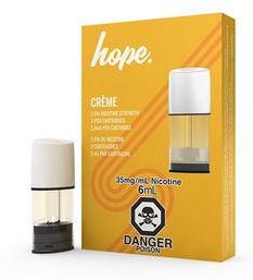 STLTH Pods, Hope - Creme - Nicotine Salt (3/pack)