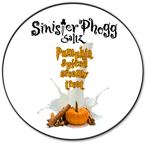 Pumpkin Spiced Creamy Treat by Sinister Phogg Saltz
