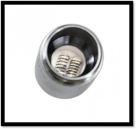 QDC Quartz Dual Coil for Evolve Plus