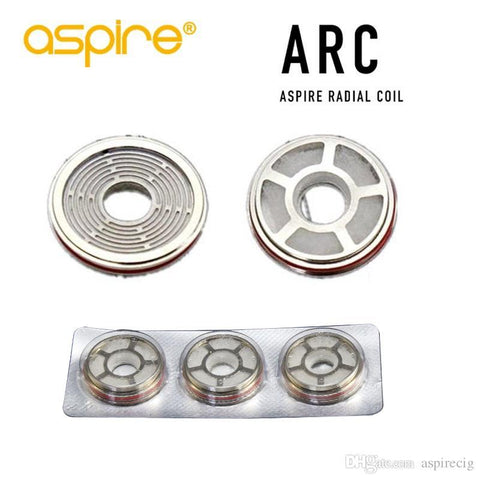 Arc Radial Coils for Aspire Revvo