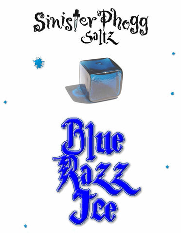 Blue Razz Ice by Sinister Phogg Saltz