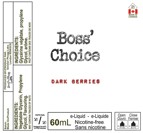 Dark Berries  - Boss' Choice