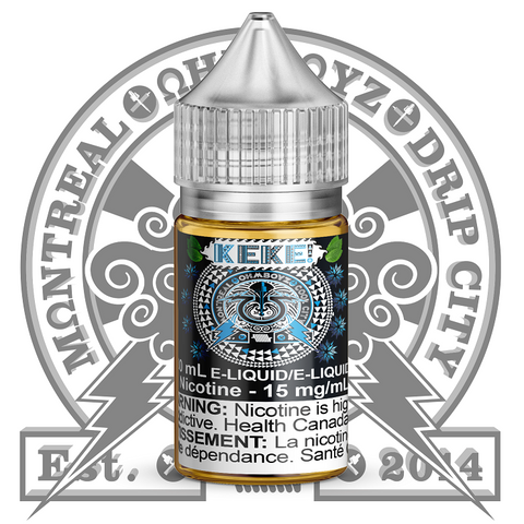 Ohmboyz Cool City, 30 ml, Keke Salt