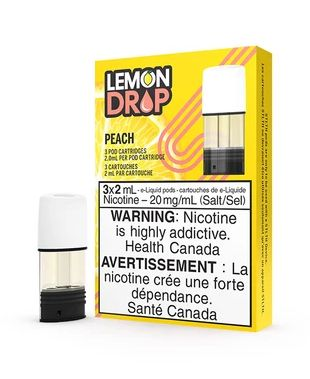 Peach by Lemon Drop STLTH Pods (3 Pack)