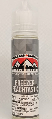 Breezer Peachtastic from Great Canadian Fog