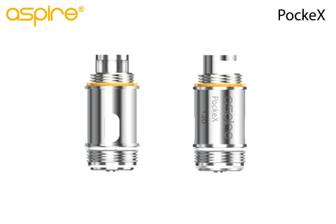 Aspire AIO PockeX U-Tech Coils .6 ohms 5/pack