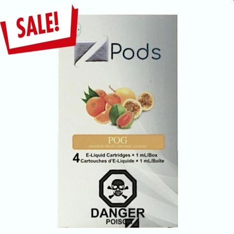 POG Compatible Z Pods by Ziip Pods (4 Pack)