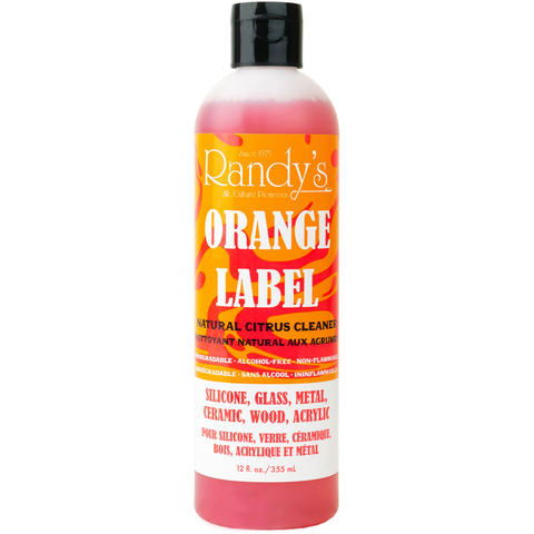 Randy's Orange Label Cleaner Bottle, 12 oz