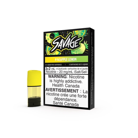 Savage STLTH Pods - Pineapple Lemon (3 Pack)