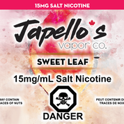 Sweet Leaf Salts by Japello's
