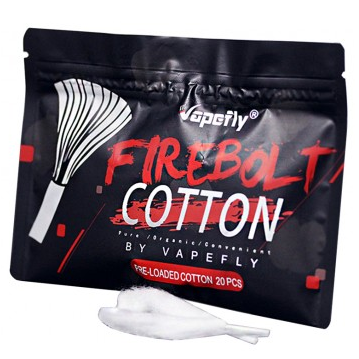 Vapefly Firebolt Organic Pre-loaded Cotton