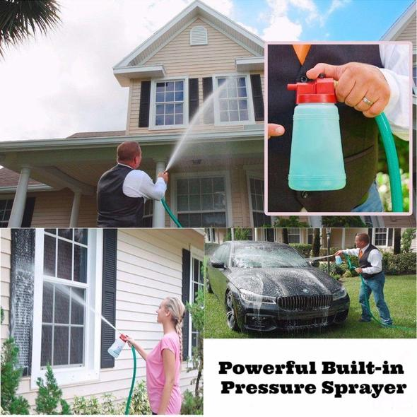 Buy three free shipping!!!Powerful Built-in Pressure Sprayer