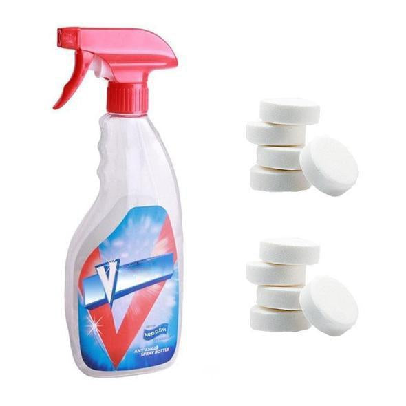 (50PC-Recommend)MULTIFUNCTIONAL EFFERVESCENT SPRAY CLEANER SET