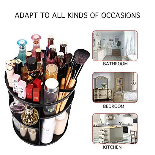 Returning again at a low price—360° rotating Crystal Cosmetic storage box