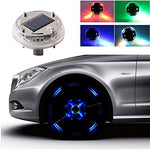【BUY 4 FREE SHIPPING】12 LED Solar Flash Wheel Tire Light