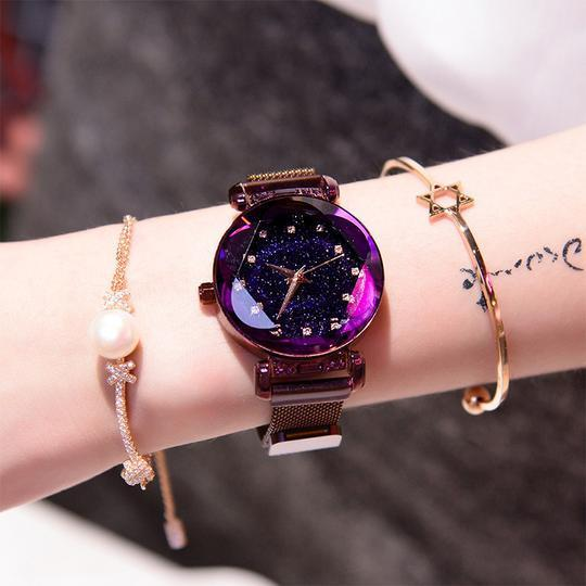 🎈Factory Outlet 10,00 Items🎈2019 The Newest Starry Sky Watch & Limited Buy 2 Get 1 Free!!!