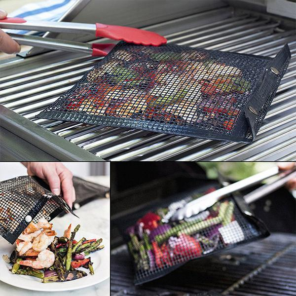 BUY 2 GET 1!!Non-Stick Mesh Grilling Bag