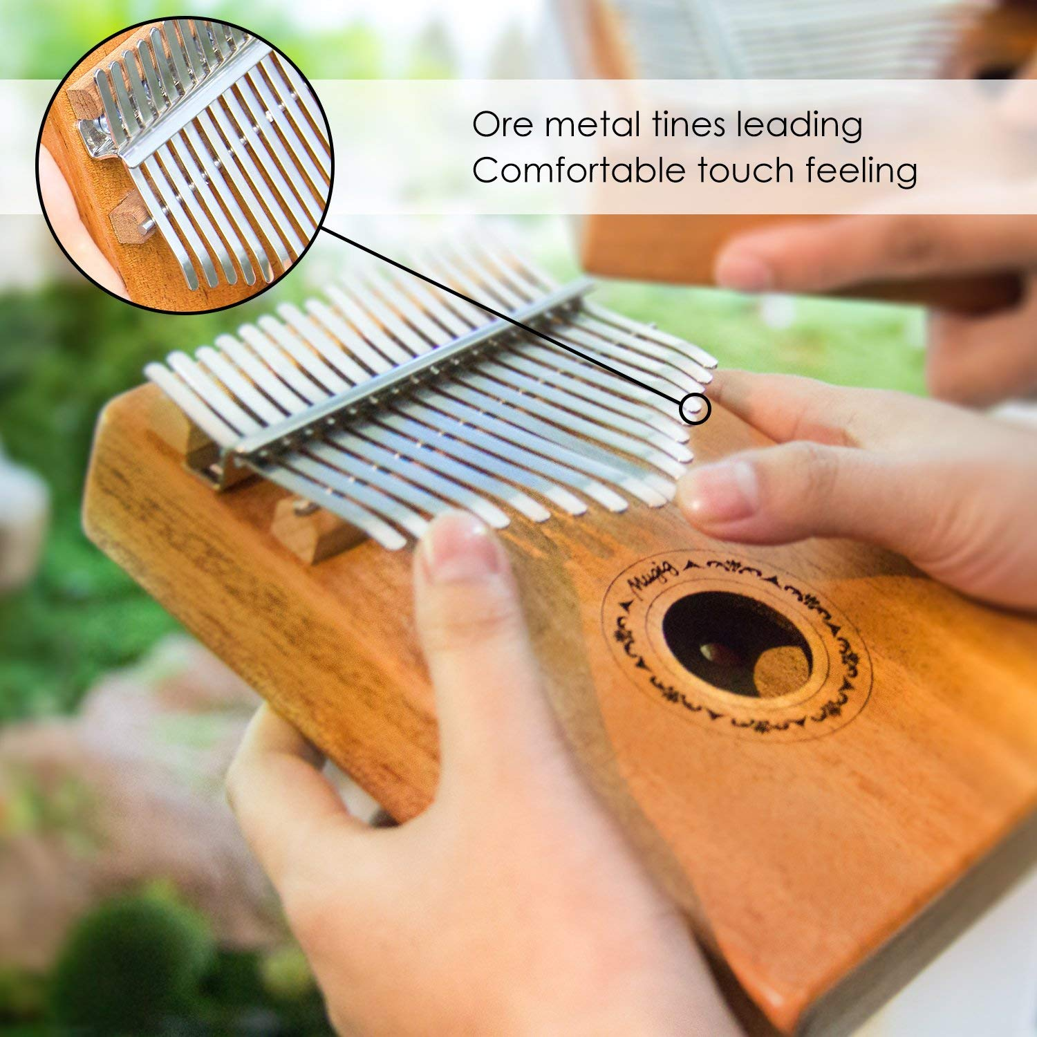 (Best Christmas gifit!)17 keys Kalimba-George!!Buy one get six countdown day!!