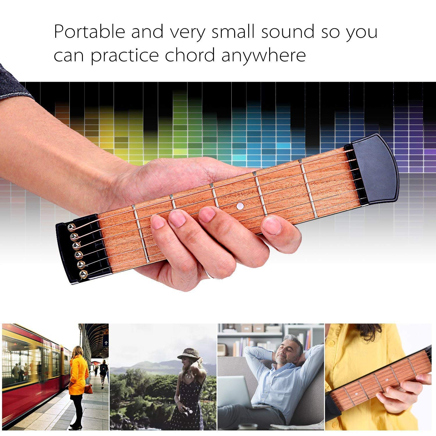 (Best gift!!) Pocket Guitar! Buy two free shipping!!!