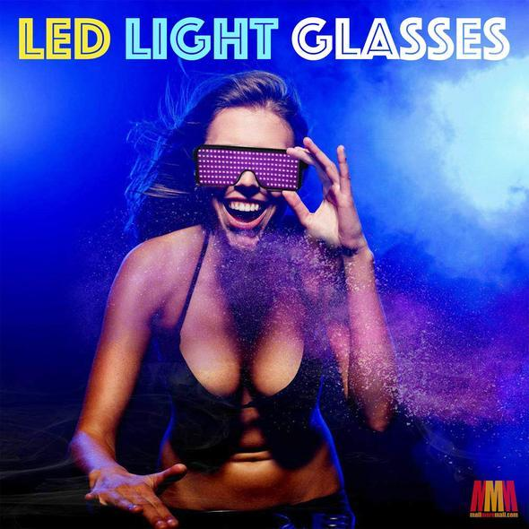 Buy two free shipping!!LED Light Glasses