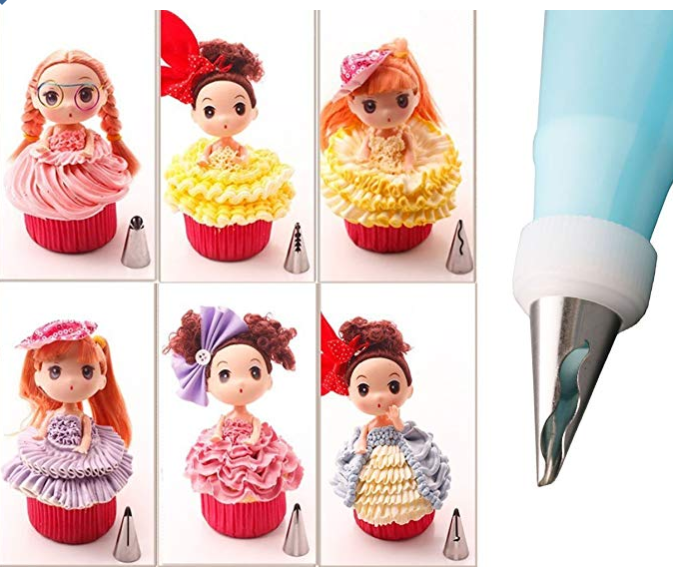 Pastry Nozzle Piping Tip Set (10 PCS)