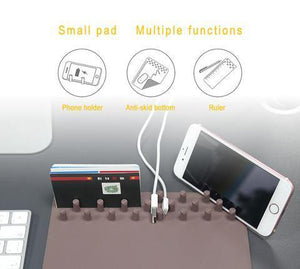 Buy two free shipping!!!Wireless charging multi-function mouse pad