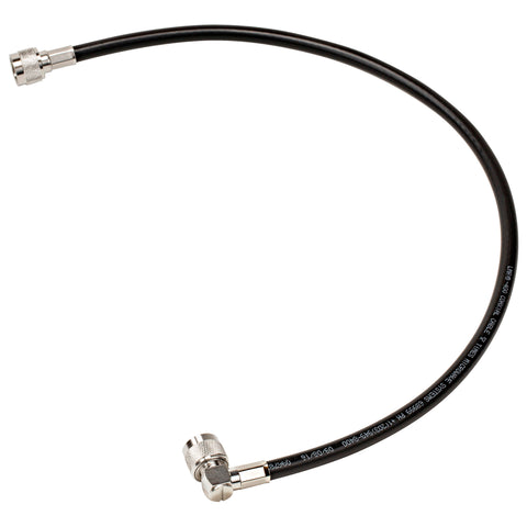 LMR-400 N-Male to N-Male Right Angle Coax Cable Northcomm Technologies