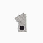 Heather Grey Tee with Contrast Pocket | Miles Baby