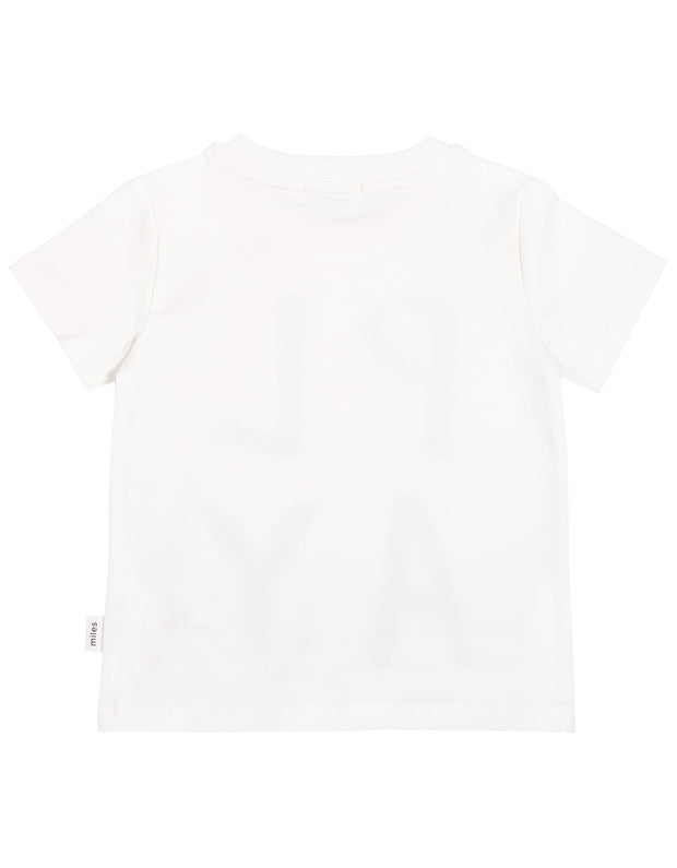 Off White Tee | Miles Basic