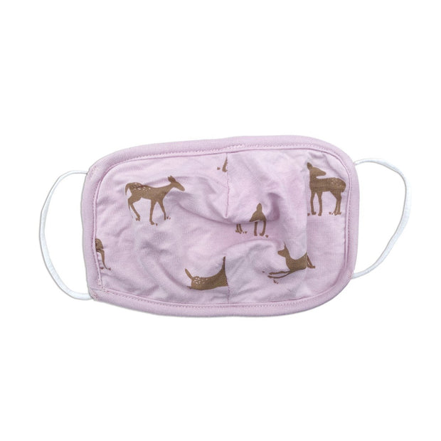 Bamboo Face Mask - Kids | Deer