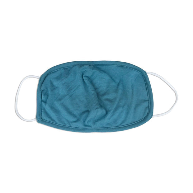Bamboo Face Mask - Kids | Teal