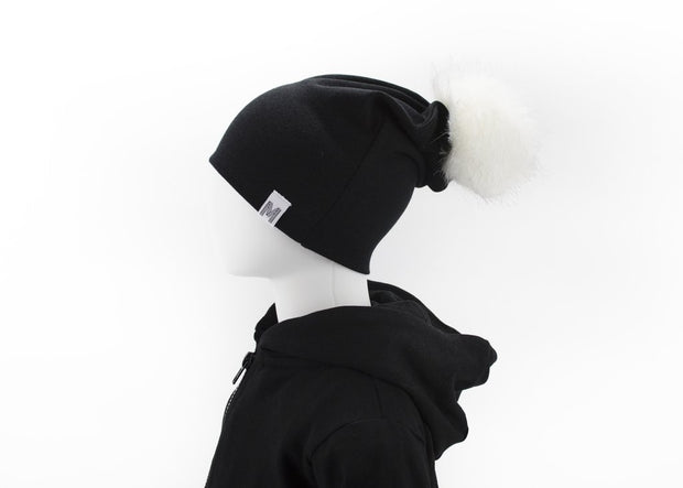 Flip Rim Toque | Black by My Mila