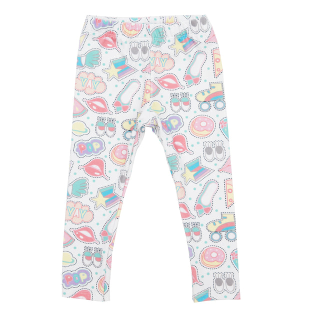 Legging | Sticker Collector, Leggings, Ollie Jones - O&Lo