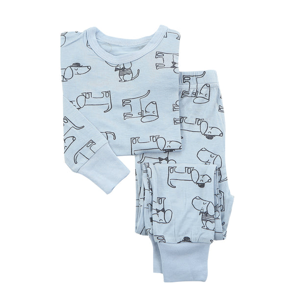 Bamboo Pajama Set | Dog, Pajamas, Silkberry Baby - O&Lo