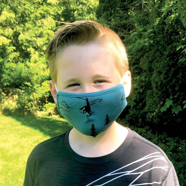 Bamboo Face Mask - Kids | Call of the Wild