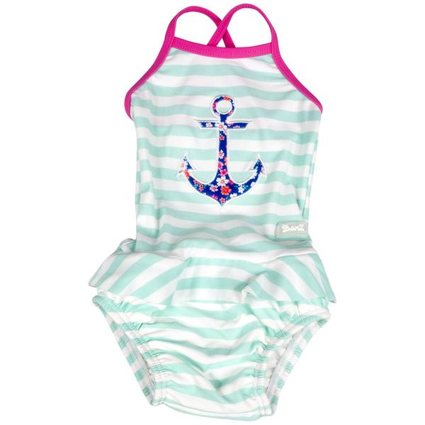 One-Piece Anchor Girls Tank Swimsuit, Swimwear, Baby Banz Inc. - O&Lo