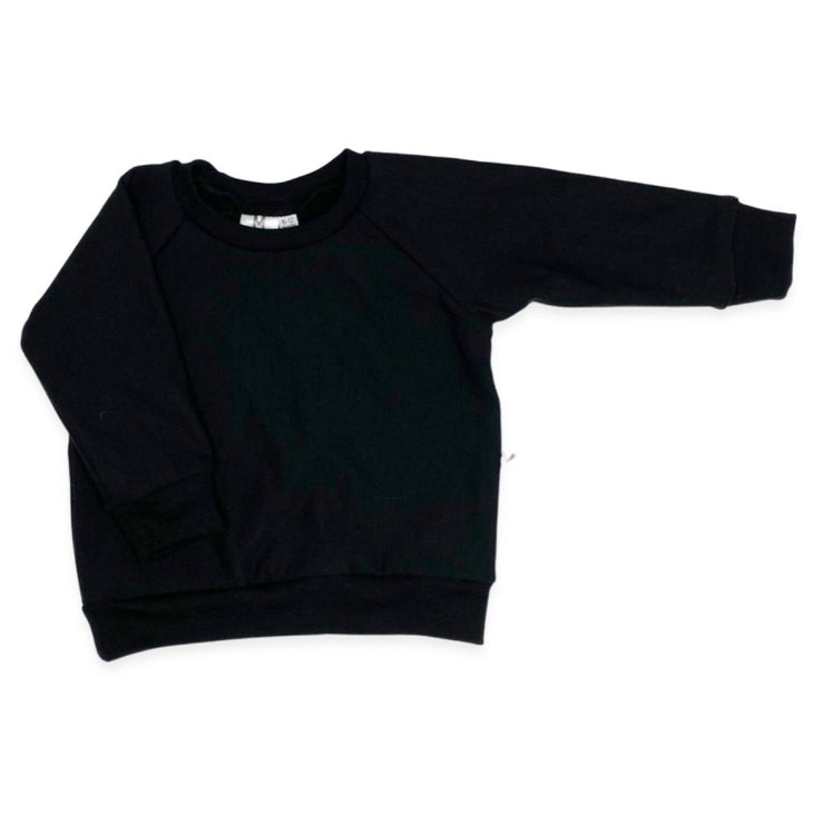 Raglan Pullover | Black by My Mila